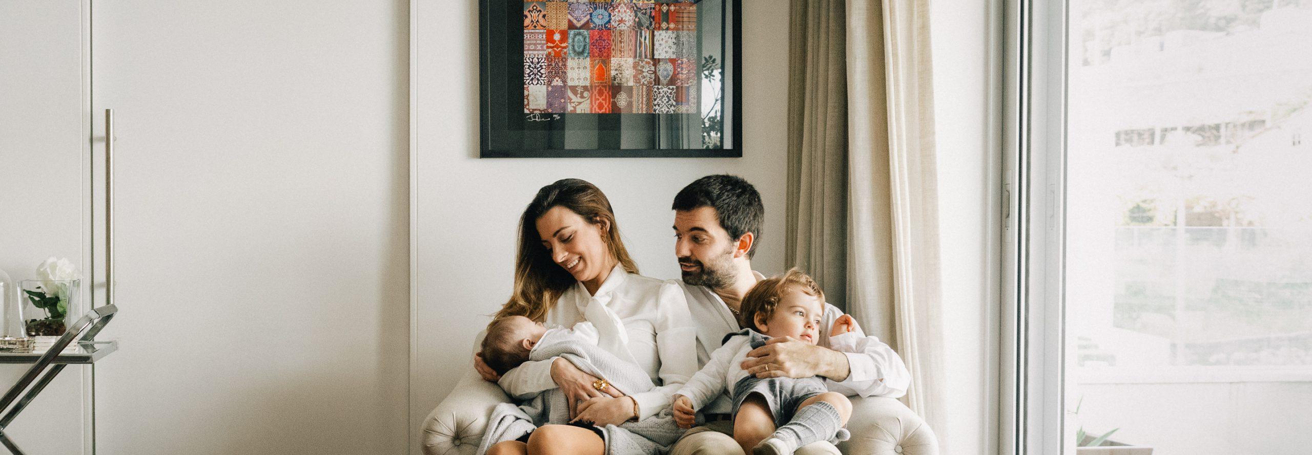 Sessão de Fotografia de Família no Porto